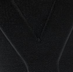 Saint Laurent Paris Black Leather Bifold Wallet