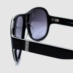 Salvatore Ferragamo Black SF623S Mens Sunglasses