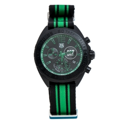 Tag Heuer Black Titanium Carbide Coated Stainless Steel Formula 1 Cristiano Ronaldo CR7 Limited Edition CAZ1113 Mens' Wristwatch 42 mm
