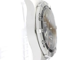 Tag Heuer Black Stainless Steel Aquaracer 300M Calibre S Caf7010 Men's Wristwatch 43MM