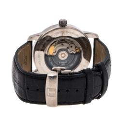 Tissot Black Titanium Powermatic 80 T087407A Men's Wristwatch 40 mm