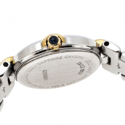 Tissot White Two-Tone Stainless Steel Classic G226/326 Women's Wristwatch 24 mm