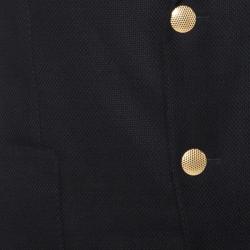Tom Ford Black Hopsack-weave Wool O'Connor-fit Blazer L