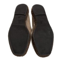 Tom Ford Beige Nubuck Barnes Espadrilles Size 45