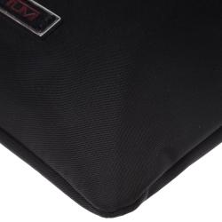Tumi Black Nylon and Leather Crossbody Bag