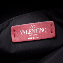 Valentino Black Nylon Backpack