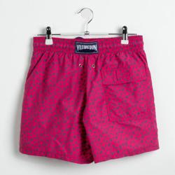 Vilebrequin Red Turtle Print Swim Trunks L (Available for UAE Customers Only)