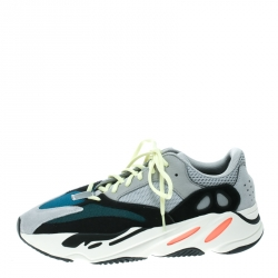 112a440779384 Yeezy x Adidas Multicolor Mix Media Boost 700 Wave Runner Sneakers Size 46.5