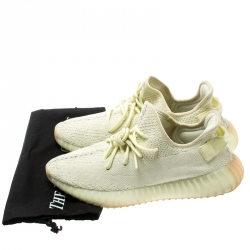 Yeezy x Adidas Butter Cotton Knit Boost 350 V2 Sneakers Size 42.5