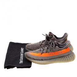 Yeezy x Adidas Two Tone Cotton Knit Boost 350 v2 Zebra Sneakers Size 38.5