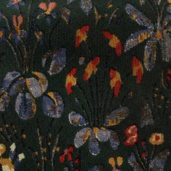 Yves Saint Laurent Bottle Green Floral Printed Silk Tie