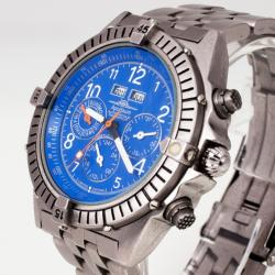 Apogaum Navigator Chronograph Mens Wristwatch 44 MM
