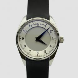 Bell & Ross Fusion SS White Mens Wristwatch 42 MM