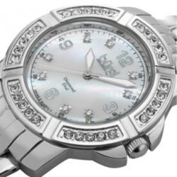 Burgi Swiss Movement Diamond Ladies Wristwatch