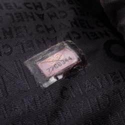 Chanel Black Leather Small Bucket Hobo