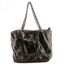 Chanel Twisted Leather Tote