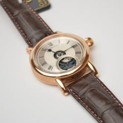 Chronoswiss Zeitzeichen Edition IV 18 K Rose Gold Mens Wristwatch 44 MM