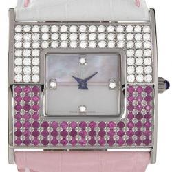 Corum Swiss Quartz Movement Diamond 18K Gold Watch