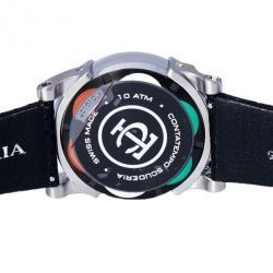 CT Scuderia Black Stainless Steel CS10109 Men's Wristwatch 46MM