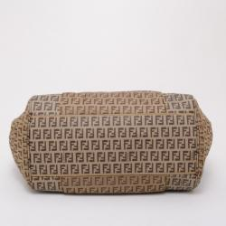 Fendi Zucchino Nylon and Spalmati Pillow Tote