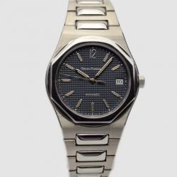 Girard Perregaux Laureato SS Black Mens Wristwatch 38 MM