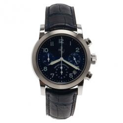 Girard Perregaux Ferrari SS Blue Chronograph Mens Wristwatch 40 MM