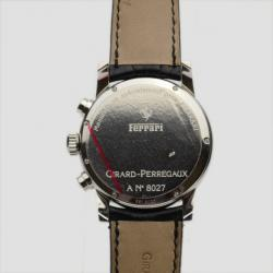 Girard Perregaux Ferrari F300 SS Ivory Chronograph Mens Wristwatch 40 MM