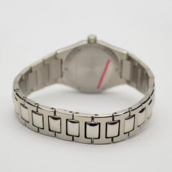 Girard Perregaux Peach Stainless Steel Laureato Ref.8000 Womens Wristwatch 26 MM