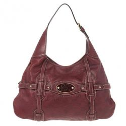 Gucci Guccissima Leather 85th Collection Hobo Bag