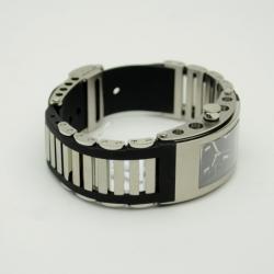 Jorg Hysek Black Stainless Steel Rubber Ladies Wristwatch 42 MM