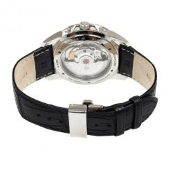 Junghans Black Stainless Steel Ambassador Men's Wristwatch 42MM