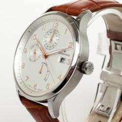 Junghans SS Arthur Attaché Power Reserve Mens Wristwatch 40 MM