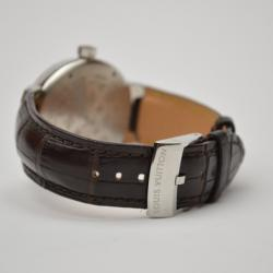 Louis Vuitton Tambour Wristwatch Brown