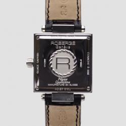 Robergé Pégase Quantième Stainless Steel Automatic Mens Wristwatch 32 MM