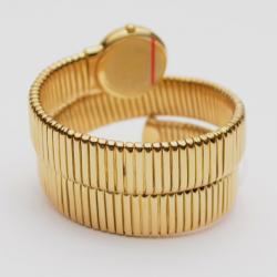Robergé 18 K Yellow Gold Spiral Ladies Wristwatch 26 MM