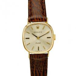 Rolex Vintage Orchid 14K Yellow Gold Women's Watch