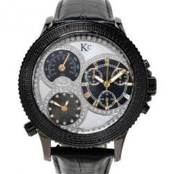 KC Chronograph Diamond Mens Wristwatch