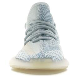 Adidas White Yeezy 350 Cloud Sneakers Size 43