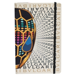 Bvlgari Multicolor Logo Print Notebook