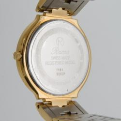 Rama Swiss Watch Palace Gold Plated Unisex Wristwatch
