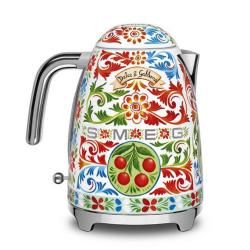 Smeg x Dolce & Gabbana Kettle, 1.7 Liter, Multicolor (Available for UAE Customers Only)