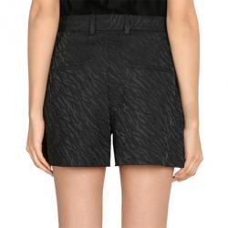 3.1 Phillip Lim Black Cuffed Bermuda Shorts M