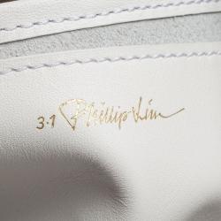 3.1 Philip Lim Tricolor Leather Slim Accordion Tote