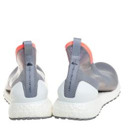 adidas x Stella McCartney Metallic Grey Ultra Boost All Terrain Sneakers Size 38