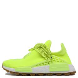 Adidas Human Race NMD Solar Yellow Sneakers Size 38