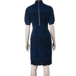 Alberta Ferreti Knit Turtleneck Dress M