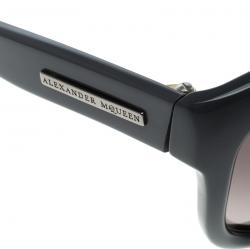 Alexander McQueen Grey AMQ 4190/S Oversized Sunglasses