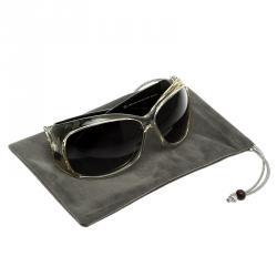 Alexander McQueen AMQ 4107/S TBB7V Oversize Sunglasses