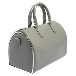Alexander Wang Grey Leather Small Halo Satchel
