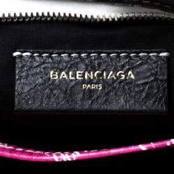 Balenciaga Multicoclor Leather Bazar NYC City Arena Clutch